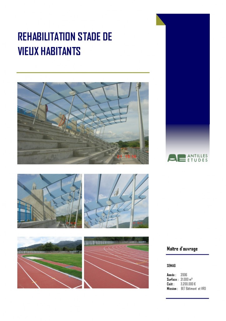 Stade VIEUX HABITANTS